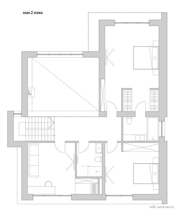 oleh Tobi Architects, Minimalis
