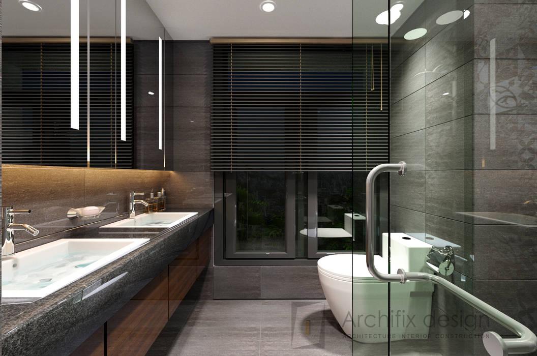 Modern bathroom by Công Ty TNHH Archifix Design Modern