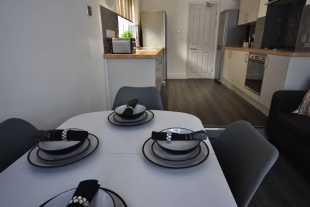 HMO Rrefurbishment Kerry Holden Interiors Modern kitchen