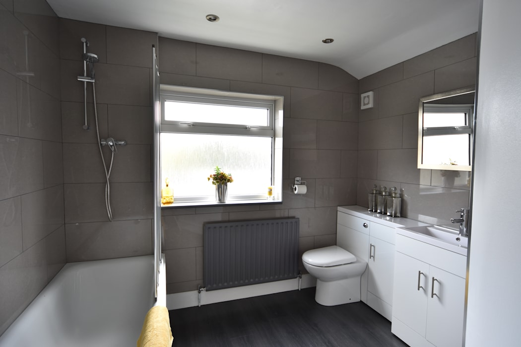 HMO Rrefurbishment Kerry Holden Interiors Modern bathroom