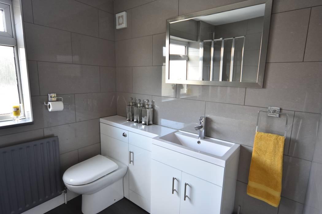 HMO Rrefurbishment Kerry Holden Interiors Modern bathroom