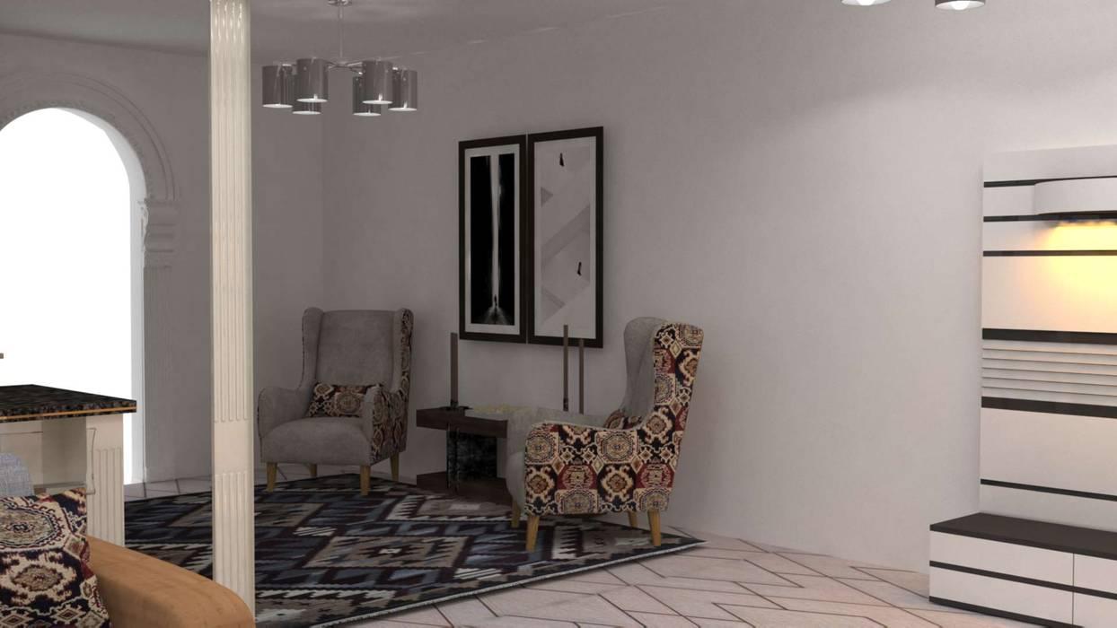 Salas de estilo minimalista de Batool Minimalista