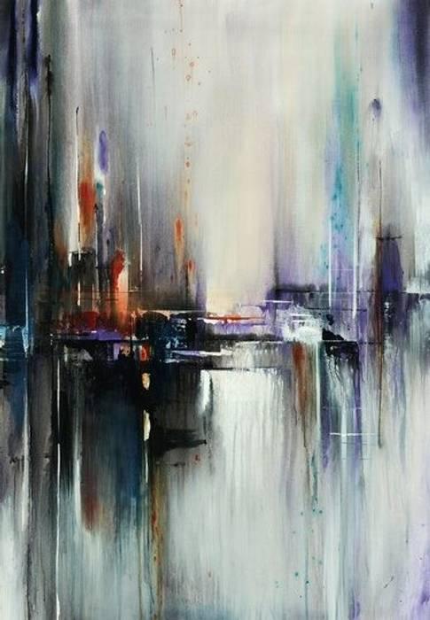 Pinturas al Oleo Salas modernas de Galeria Marqueteria ARTE & MARKO Moderno