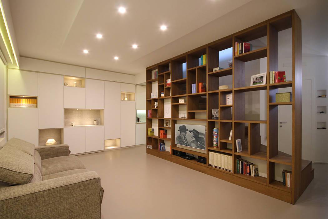 Soggiorno moderno: soggiorno in stile di jfd - juri favilli design ...