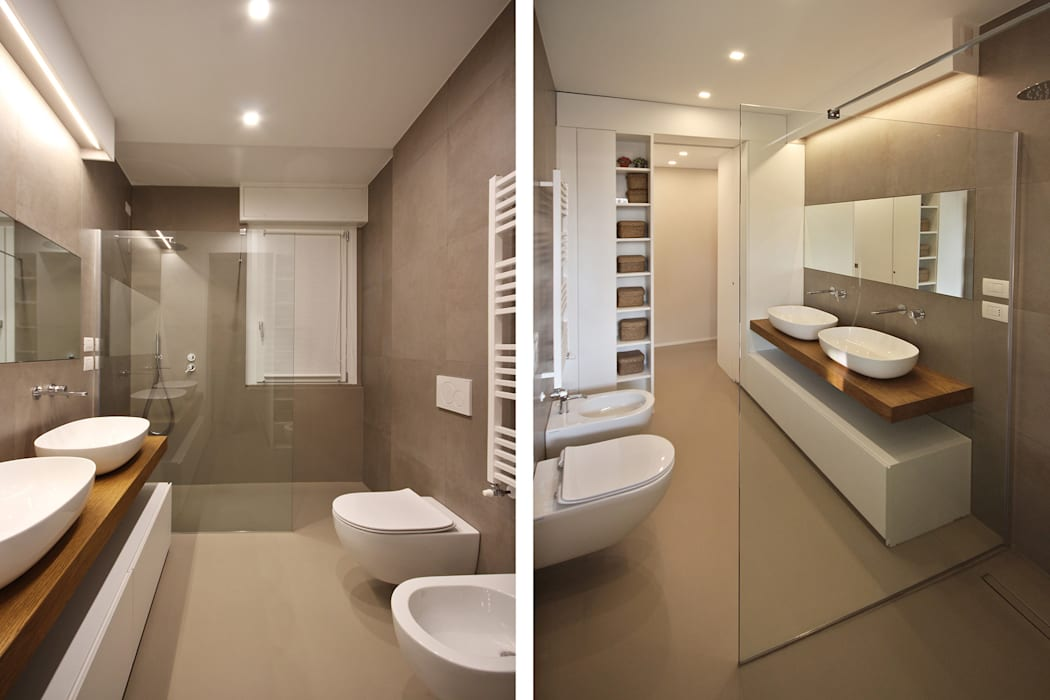 Bagno design moderno bagno in stile di jfd juri favilli design