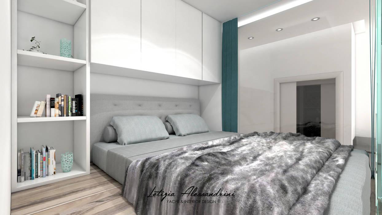 Monolocale a milano: camera da letto in stile di letizia ...