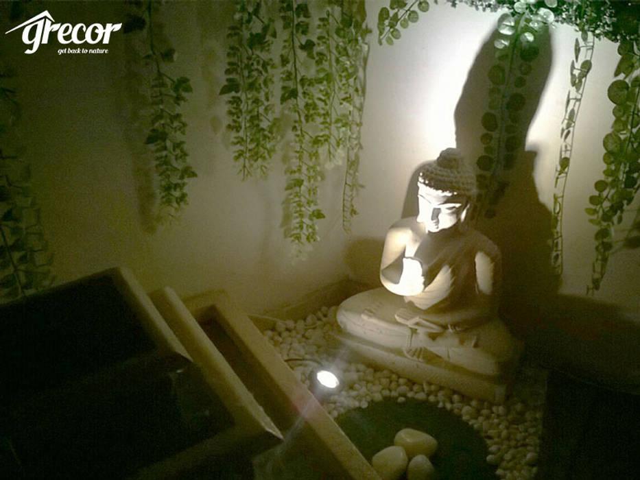 Buddha Corner Modern garden by Grecor Modern