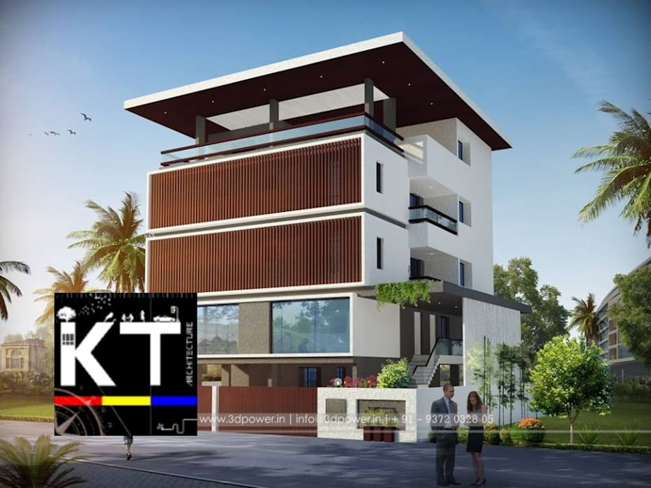 RESIDENTIALS by ARCHITECTS KT INDIA GROUP Modern