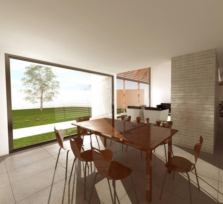 Comedor Comedores de estilo moderno de artefacto arquitectura Moderno