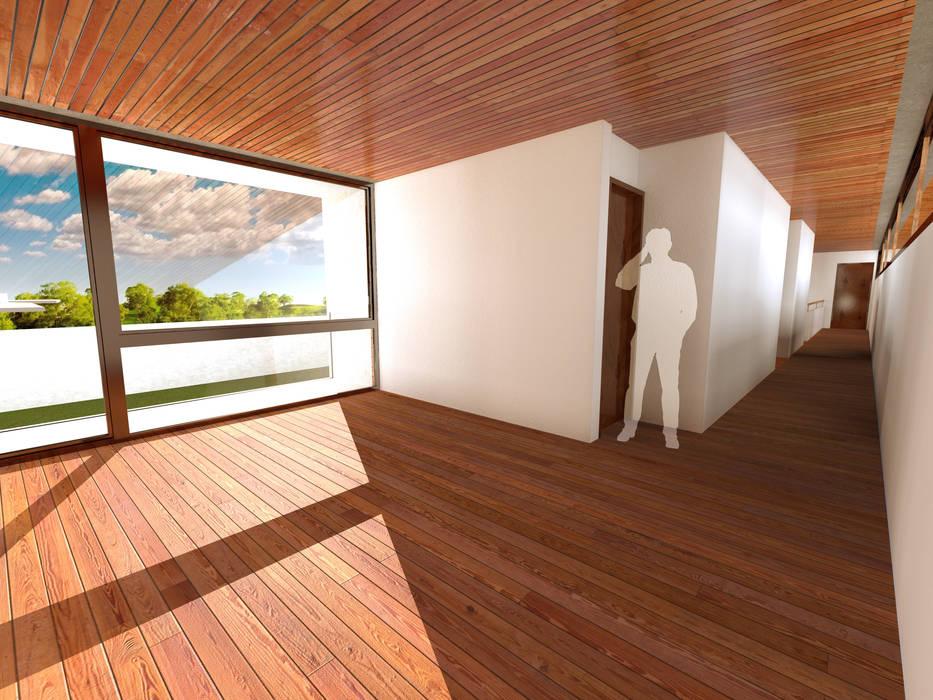 Estar Oficinas y bibliotecas de estilo moderno de artefacto arquitectura Moderno
