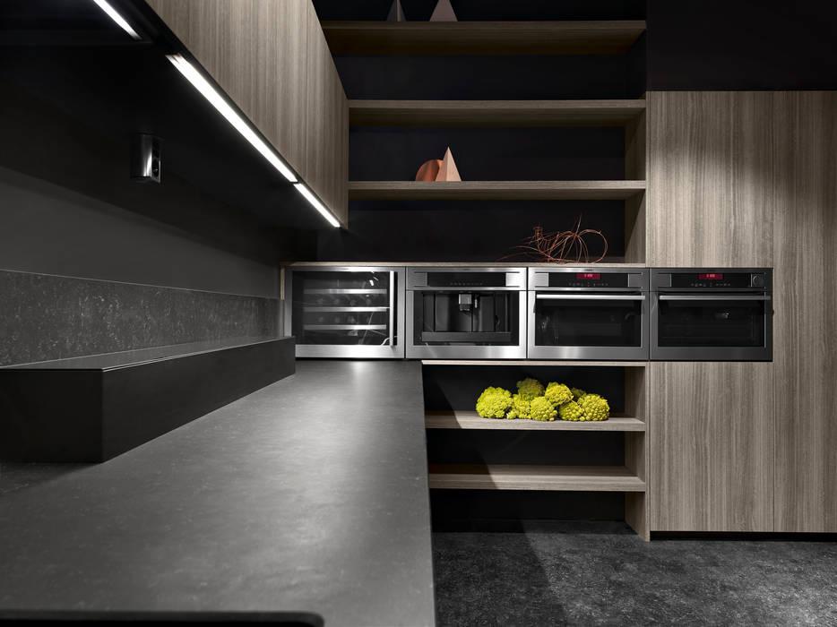 Binova Bluna Cucina moderna di BINOVA MILANO Moderno