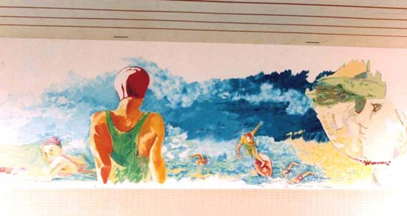 Fresque murale: Centres commerciaux de style  par Filée Dominique