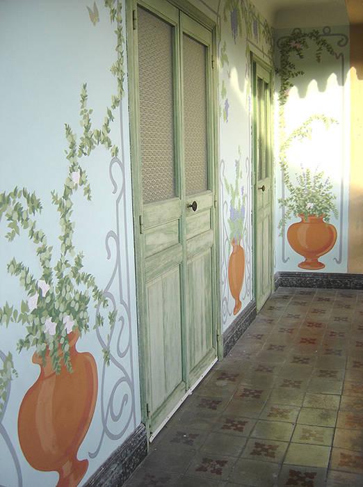 Fresque murale: Hôtels de style  par Filée Dominique