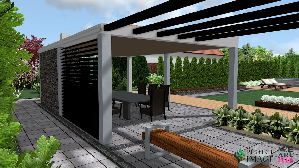 Moderner balkon, veranda & terrasse von design we are 3d ...