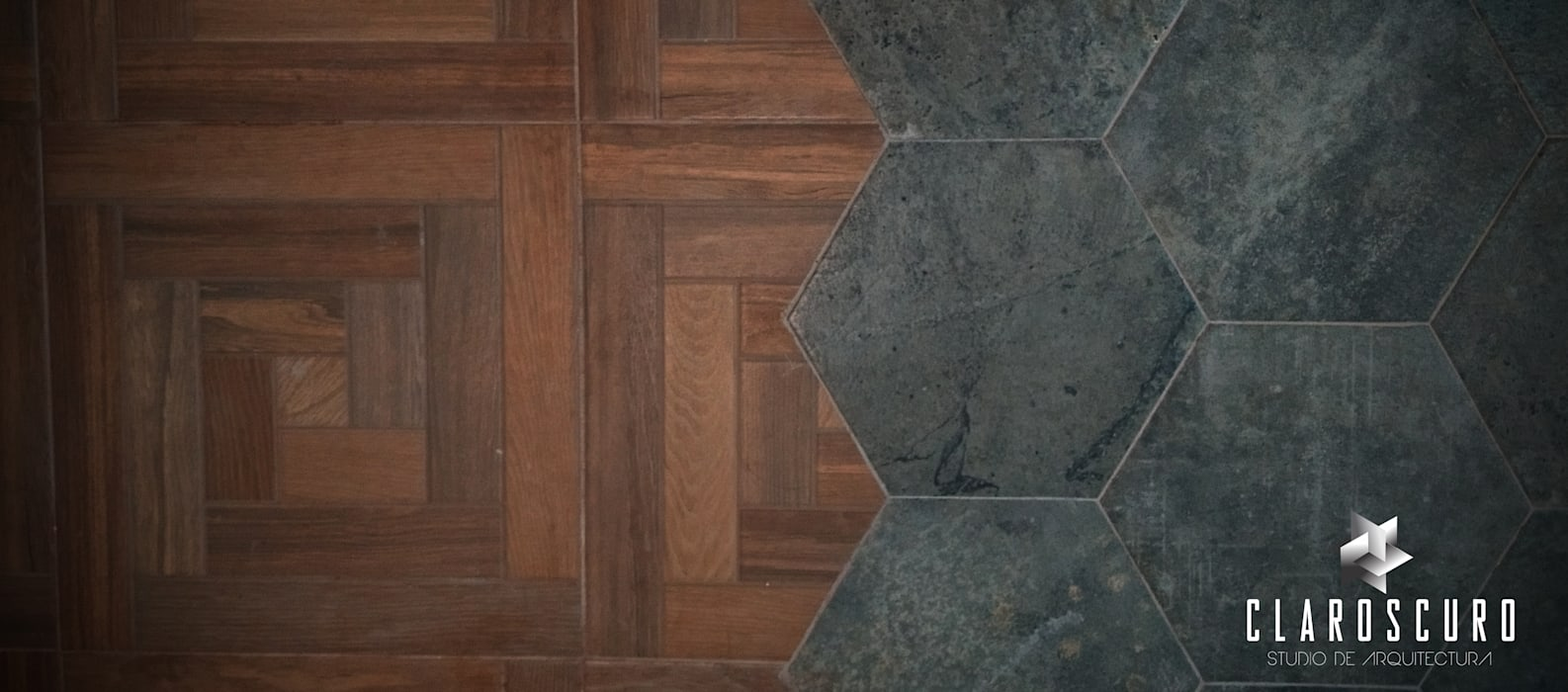Floors by CLAROSCURO ESTUDIO DE ARQUITECTURA, Eclectic Ceramic