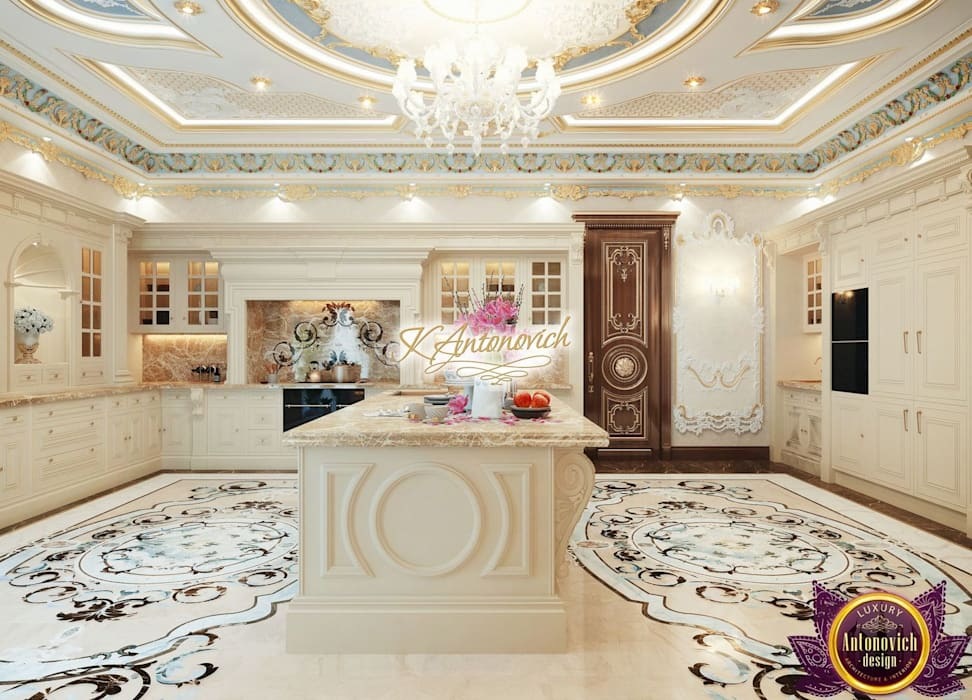 Kitchen Design Usa By Katrina Antonovich: Kitchen By Luxury Antonovich Design