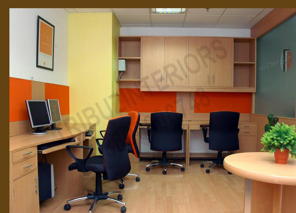 อาคารสำนักงาน โดย Tribuz Interiors Pvt. Ltd., โมเดิร์น