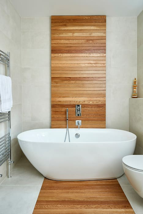 Highgate Home Refurbishment Modern Banyo Patience Designs Modern