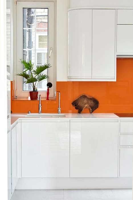 Highgate Home Refurbishment Cocinas de estilo moderno de Patience Designs Moderno