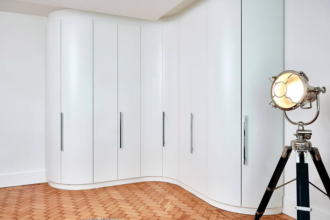 Highgate Home Refurbishment Patience Designs Studio Ltd Modern style bedroom