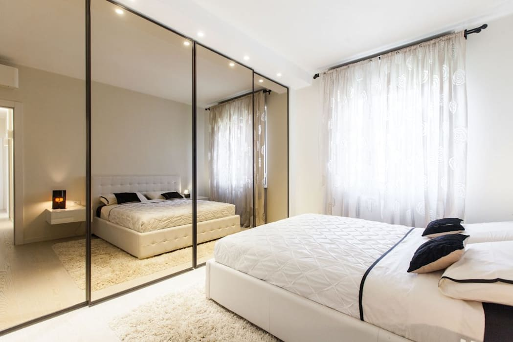 Un appartamento rinnovato da zero camera da letto moderna di ...