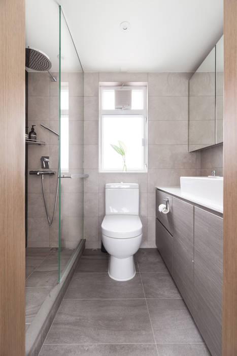 Cherry Crest Scandinavian style bathroom by Clifton Leung Design Workshop Scandinavian
