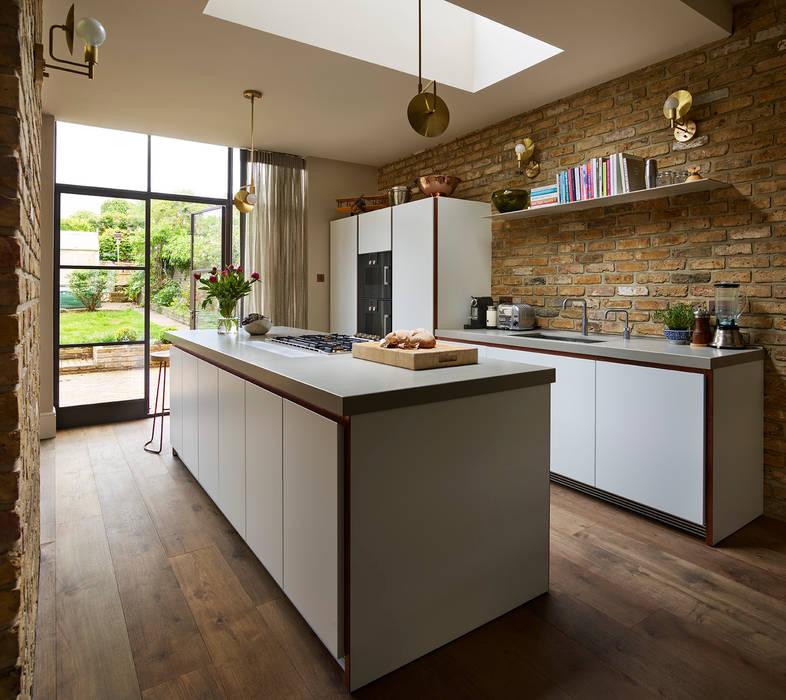 Modern Meets Industrial Kitchen Architecture Industriale Kuchen Homify