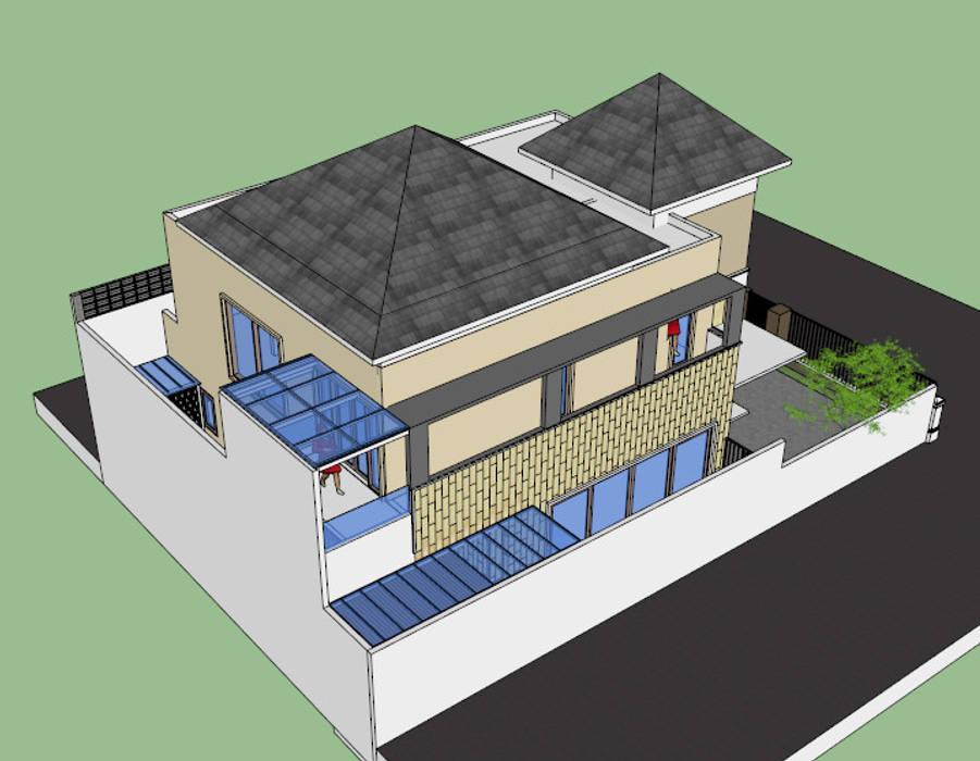 сучасний  by sony architect studio, Сучасний