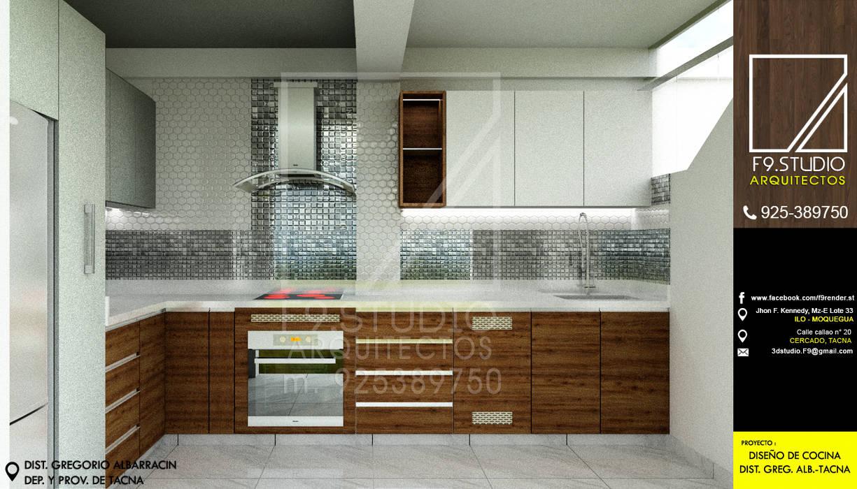 Módulos De Cocina De Estilo De F9 Studio Arquitectos Homify