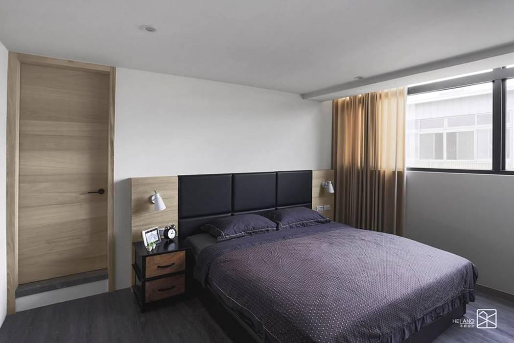 禾廊室內設計が手掛けた寝室,