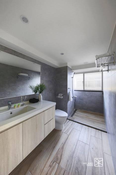 主浴:  浴室 by 禾廊室內設計