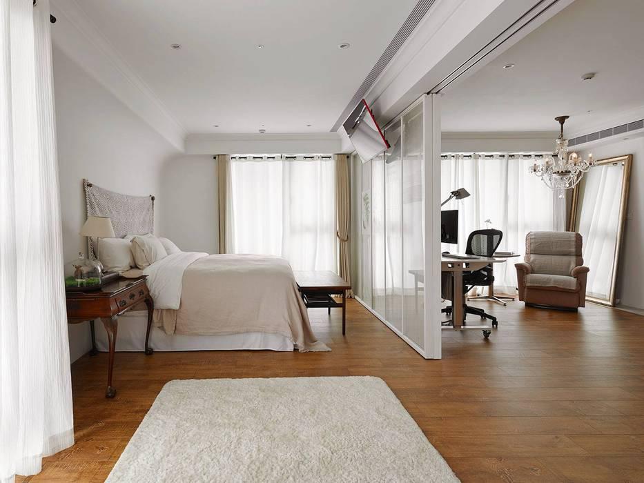 Chambre de style  par Co*Good Design Co. Ltd.,