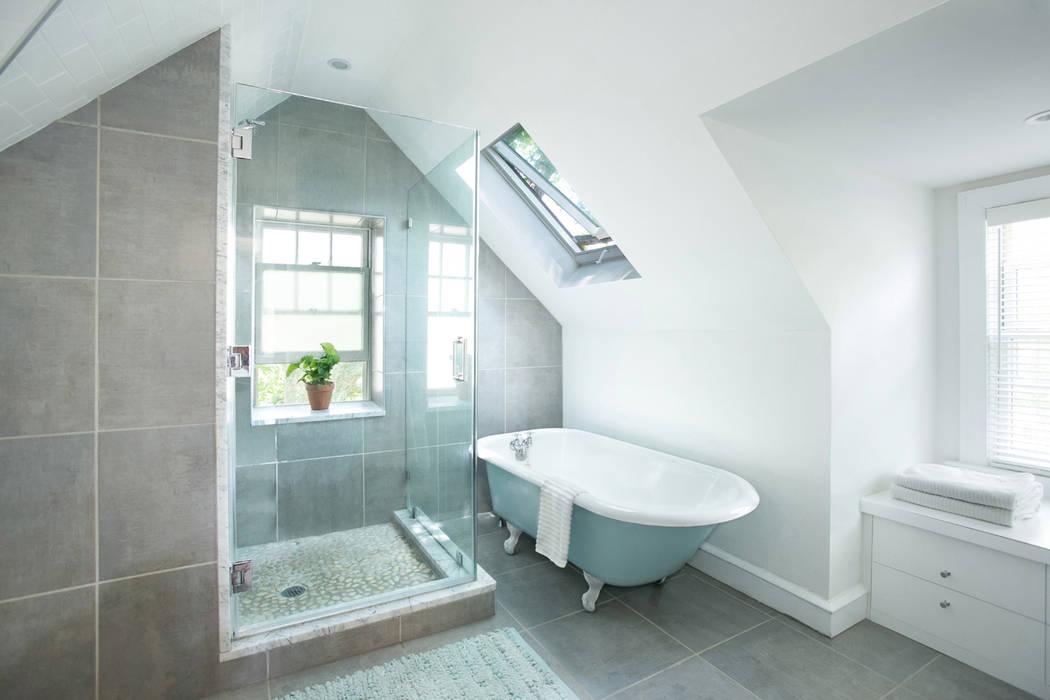 Metcalfe Architecture & Design Banheiros minimalistas