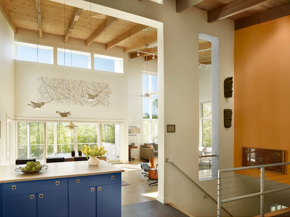Salas de jantar modernas por Metcalfe Architecture & Design Moderno