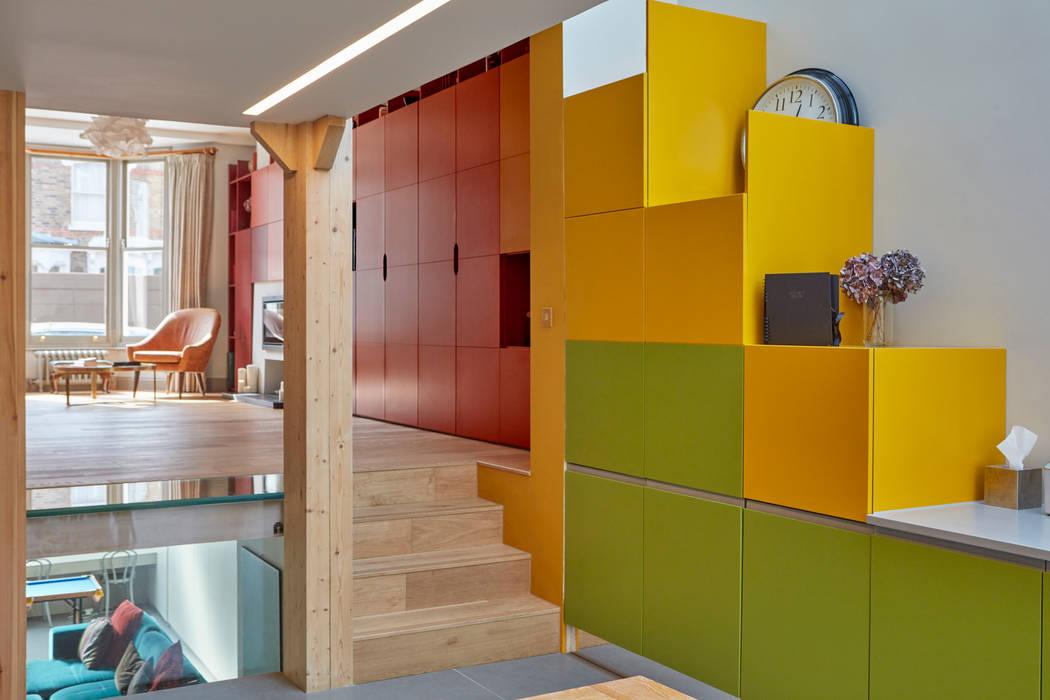 Living room Soggiorno moderno di Draisci Studio Moderno