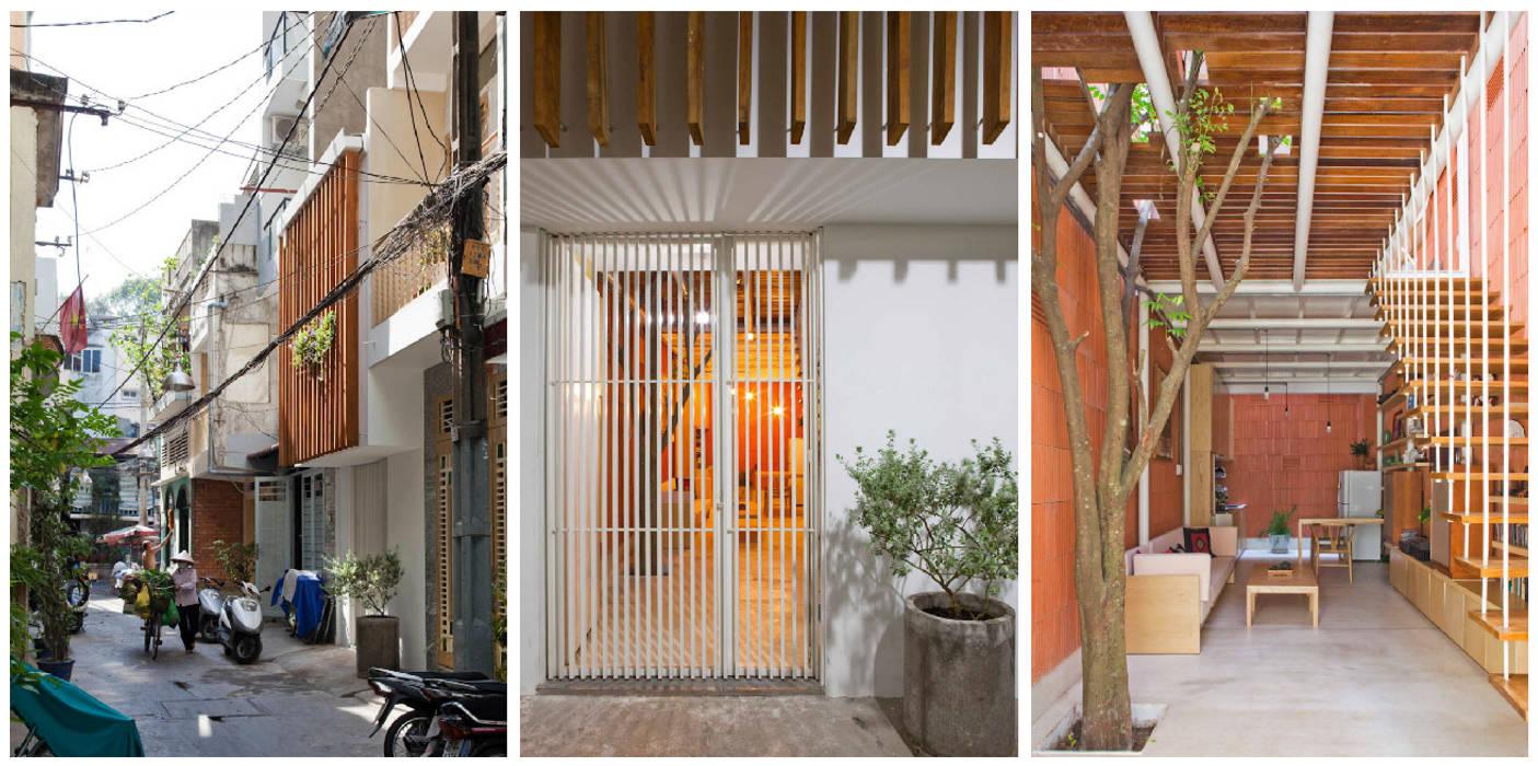 Casas de estilo  por a21studĩo, Moderno