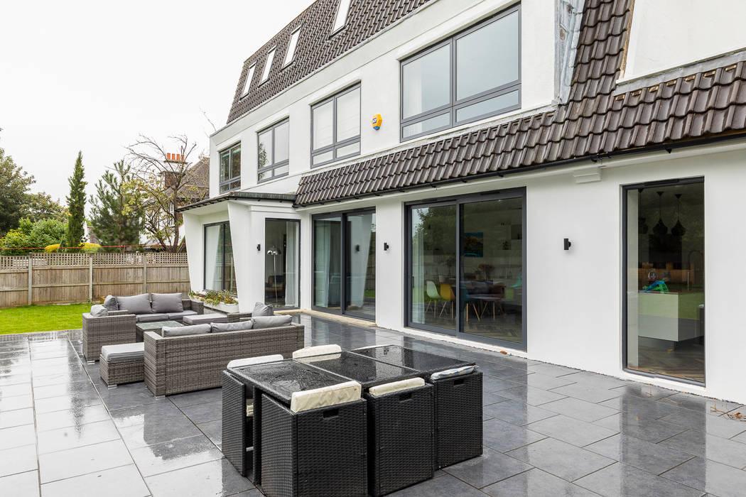 Whole House Renovation, Cheam, Surrey bởi Model Projects Ltd Hiện đại