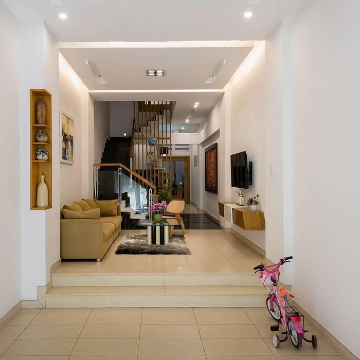 Phòng khách:  Phòng khách by Công ty TNHH Xây Dựng TM – DV Song Phát