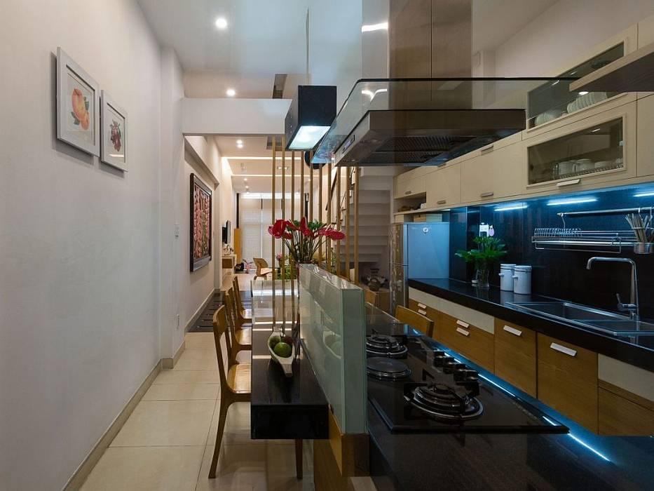 Phòng bếp Nhà bếp phong cách hiện đại bởi Công ty TNHH Xây Dựng TM – DV Song Phát Hiện đại