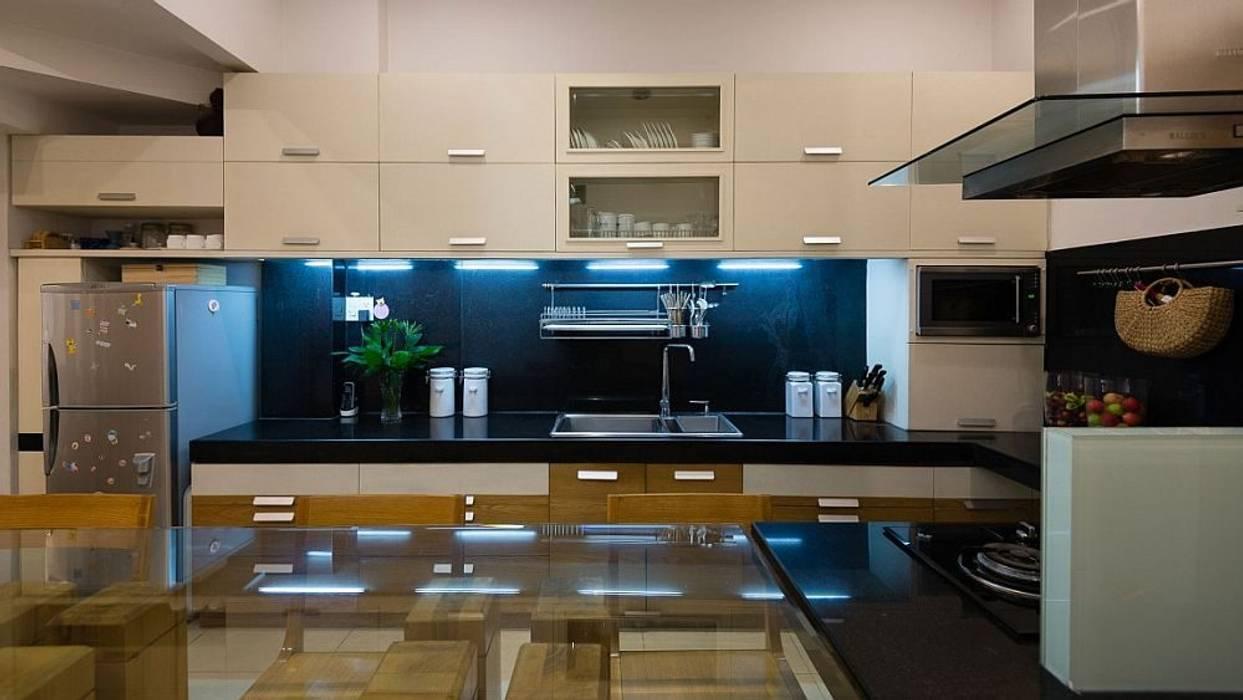 Phòng bếp:  Tủ bếp by Công ty TNHH Xây Dựng TM – DV Song Phát, Hiện đại