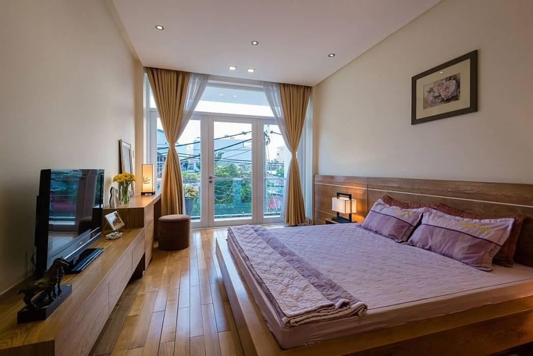 Phòng ngủ Phòng ngủ phong cách hiện đại bởi Công ty TNHH Xây Dựng TM – DV Song Phát Hiện đại