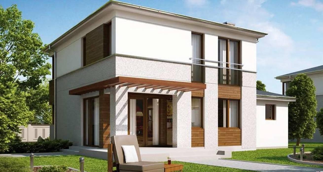 by FHS Casas Prefabricadas Classic Iron/Steel