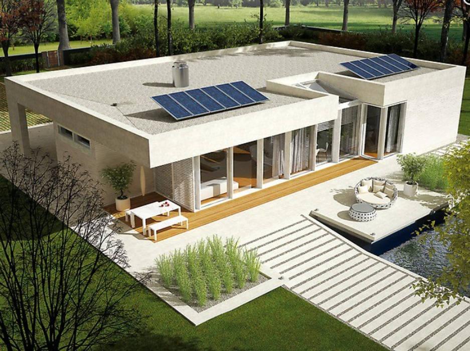 by FHS Casas Prefabricadas Modern Metal