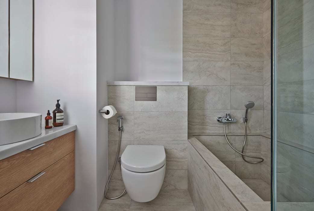 CLEMENTI PARK:  Bathroom by Eightytwo Pte Ltd,Scandinavian
