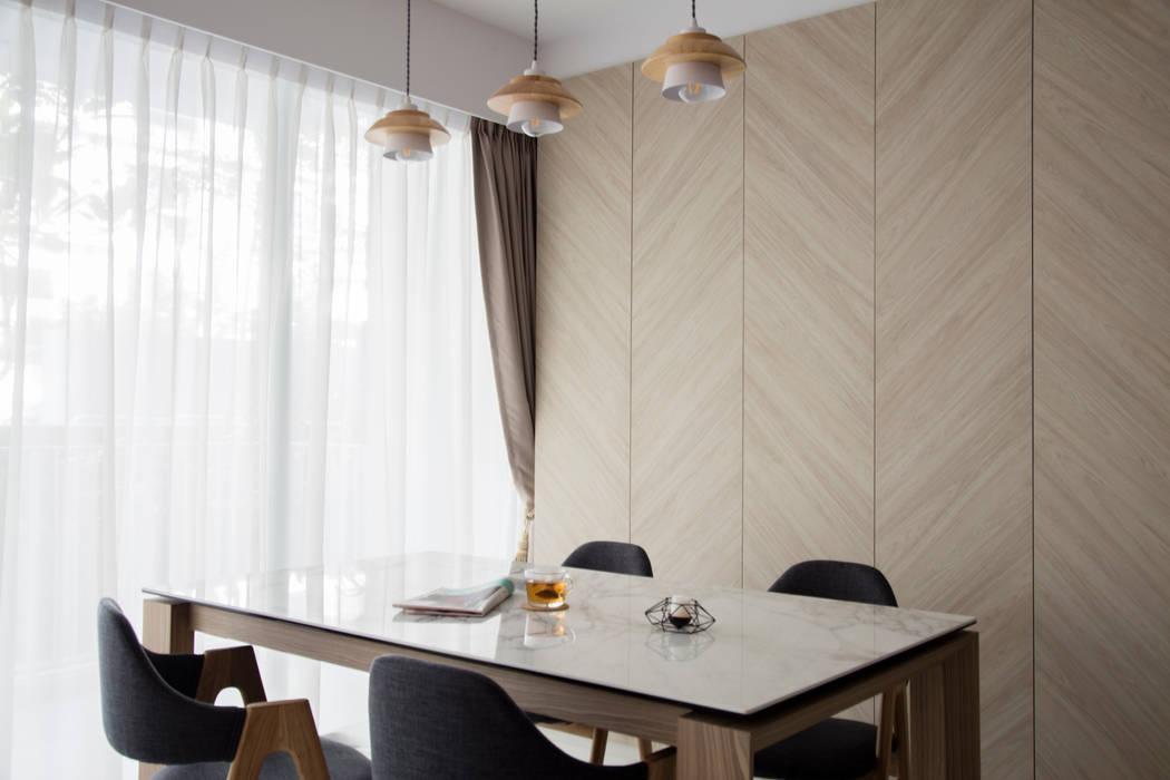 ECOPOLITAN Scandinavian style dining room by Eightytwo Pte Ltd Scandinavian