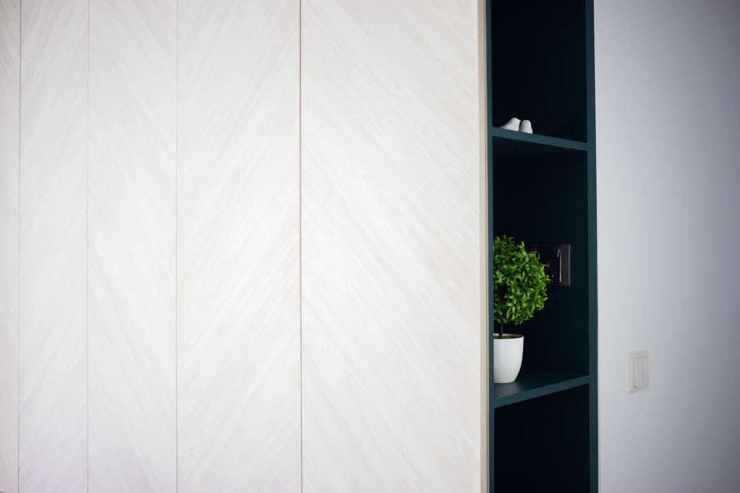 Skandynawska sypialnia od Eightytwo Pte Ltd Skandynawski