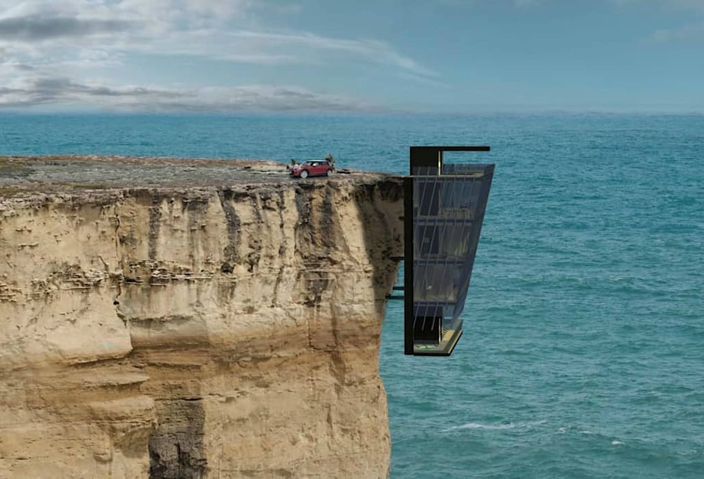 Cliff House Casas de estilo mediterráneo de Modscape Holdings Pty Ltd Mediterráneo