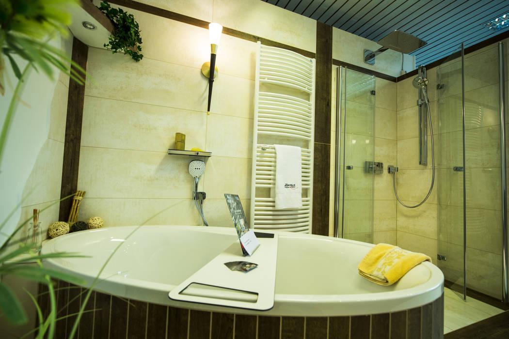 Ausstellungskoje als (fast) komplettes badezimmer: badezimmer von ...