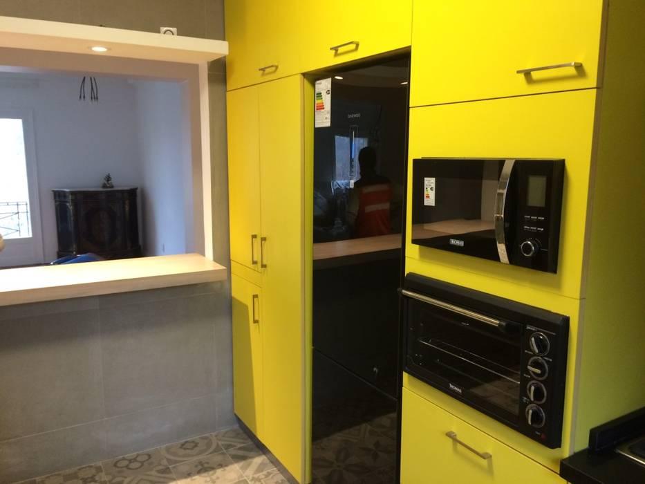 Cocina inteligente: Muebles de cocinas de estilo  por PICHARA + RIOS arquitectos