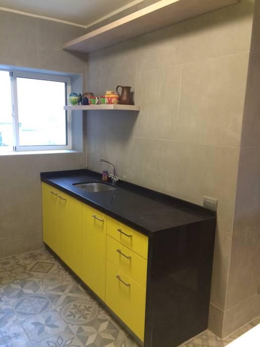 Cocina minimal: Muebles de cocinas de estilo  por PICHARA + RIOS arquitectos